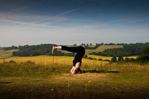 Yoga Aylesbury Headstand Pike