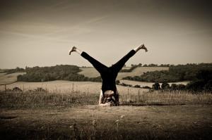 Yoga Aylesbury Headstand V Legs